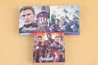 Wholesale New Popular Movie The Avengers Characteristic note Notebook School perfect for Birthday Gift