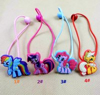 Cheap My Little Pony pony hair accessories for children Children rubber band