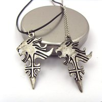 lion head necklace - Statement Necklaces Final Fantasy VIII Griever Squall Leon Hart Necklace Lion Head Necklace