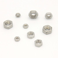 Wholesale A2 Stainless Steel Hexagon Nuts Hex Nut Metric Pitch M1