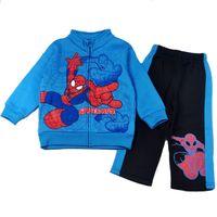 designer baby clothes - New Arrival Boys Autumn Clothes Spiderman Cartoon Designer Baby Boy Clothes Coat Pant Sportsuit Kids Clothes