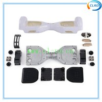 abs electric - ABS plastic kit Outer Shell for inch Self Balancing Electric Scooter self balancing scooter parts wheels mini scooter body cover shell