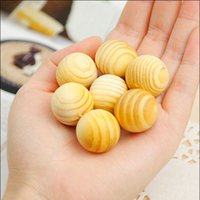 Wholesale Hot Sale Wood Moth Balls Camphor Repellent For Wardrobe Clothes Drawer Drop fwooden balls ree Shipping TY1127