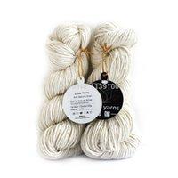aran yarn - Silky merino Aran yarn with natural undyed color for handknitting