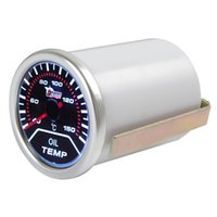 Wholesale 2 quot mm Degrees Celsius Car Motor Indicator Oil Temp Gauge With Led Display CEC_525