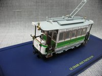 atlas cities - Static car models Ultra fine Atlas Swiss city tram model resin static collection model home decoration
