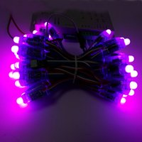 advertising a board - LED Pixel Module For DIY Advertising Board IP68 Waterproof DC5V a String Christmas Tree Light Addressable WS2801 Pixel