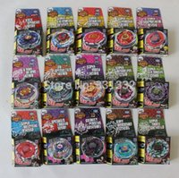 Wholesale 24pcs Hot Sale Beyblade Metal Fusion D Beyblade Masters Single Spinning Top Kids Game Toys S30