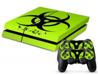 For Kindle other other Cool Skin Sticker Decal For Sony for PS4 Playstation 4 Console Controller Decals Biohazard Hazard Style Skin