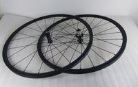 Wholesale Tubular mm carbon road bike wheelset mm wide h front and rear bicycle wheels basalt brake track pillar aero spokes powerway hub