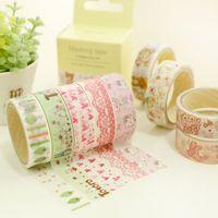 decorative tape - TOP Sweet paper tape Cute lace Masking tapes Rilakkuma totoro kitty Washi decorative tape Zakka adesivo sticker School supplies