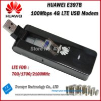 Wholesale Brand New Original Mbps HUAWEI E397B G USB Sim Card Modem Support LTE FDD MHz card sticker