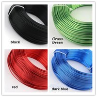 aluminum beading - 1 mm g m roll colored round Aluminum artistic Wire Colors for option diy Jewelry Wire beading memory wire