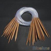 Wholesale New and high quality pairs Circular bamboo needles AHH