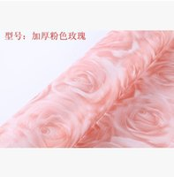 Wholesale Special offer Korea wallpaper thickened self sticking self adhesive warm bedroom living room backdrop of European garden flowers