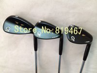 Wholesale golf clubs Black Vokey SM5 wedge loft with steel shaft right hand golf wedge