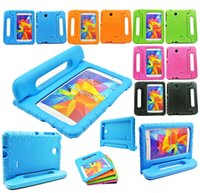Wholesale Kids ShockProof Foam Stand Handle EVA Case Cover For Samsung Galaxy Tab quot quot SM T230 T231 T235 Tablet Tab Safe