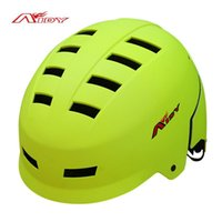 Wholesale AIDY Hip Hop BMX Helmet Outdoor Sports Roller Skating Skateboard Helmet Integrally molded Veneer Extreme Sports