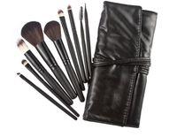 best eyebrow powder kit - Best Deal Makeup Brush Sets Professional Cosmetics Brushes Eyebrow Eye Brow Powder Lipsticks Shadows Make Up Tool Kit Pouch Bag