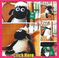Wholesale Shaun The Sheep New cm And cm Cute Lamb Plush Toys Christmas Gift Bag sends kids Best Gift