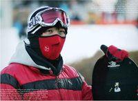 Wholesale Motorcycle Bicyle Bike Fleece Face Mask Sports Dust Winter Warm Hats Cap Ski Snowboard Wind Hood Thermal Balaclavas Scarf