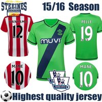 pelle pelle - 15 Southampton Soccer Home and away Red White Pelle Jersey TADIC Shirt LONG Southampton Jersey MANE Football Shirt