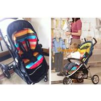 Wholesale New Baby Infant Stroller Cushion Colors Striped Liner Car Seat Pad Pram Padding