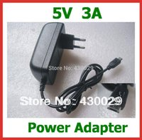 Wholesale 5V A Micro USB Charger for Tablet PC Google Nexus Nexus V975m U65GT V891W Teclast X98 Air G Power Adapter Supply Real A A5