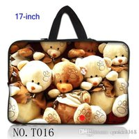 bear hide - Stylish Stylish Teddy Bear Laptop Bag Case Cover Sleeve Hide Handle For quot Notebook Computer PC