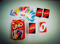 Wholesale Borad Games Fashion Paper Game and Thickening Card Hot Personal and Waterproof Fun UNO Poker