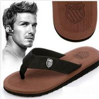 Wholesale 2015 New Summer Men Sandals mens slippers indoor slippers Soft Flip Flops EVA Massage Beach Flat Shoes For Men Size free shippping