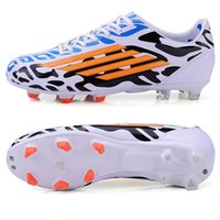 Wholesale Size Mens Sport Soccer Shoes Outdoor Long Spikes FG Football Boots Boys Kids Soccer Sneakers Trainers for Man Shoes
