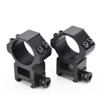 Wholesale High mm Mount Dia mm Outdoor Hunting Tool Gun accessories Optical Sight Bracket Metal Dovetail Rifle Scope Mount Ring Weaver