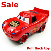 animated toy cars - Hot sale Cars Animated cartoon back car toys Diecast Metal Car