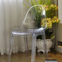 plastic stool chair - armchairs plastic chair simple creative designer chair stool parlor chair dining chair Eames chair Special fashion Office chair XS