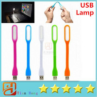 Wholesale Computer Peripheral Gadgets Novelty Lighting Notebook Laptop Lights Portable USB Keyboard Lamps Table Desk LED Mini Book Lights