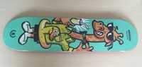 Wholesale 2015 Pro Union Full Canadian Maple Deck Skateboard quot quot Shape Skate with Giraffe Graphic