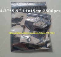 anti static bags for electronics - DHL ESD Silver Anti Static Bags for electronics x15cm bags