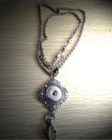 Wholesale 100 pieces Snap Button Lanyard Necklace DIY Necklace Bracelet Ring Charm Pendant Necklace