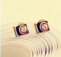 best camera jewelry - Earrings Fashion jewelry New Design Best Sellers Retro antique camera stud earrings alloy earring