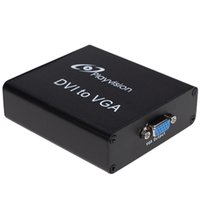 hdtv converter box - High Quality P DVI to VGA Converter Box Digital DVI I Adapter for PC HDTV Monitor Video Equipment V890