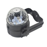 gps active antenna - GPS W LED Bulbs Crystal Ball Car Styling USB Sound Control Active Home Party Disco Bar Music Rhythm DJ Light Dancing Lamp