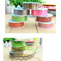 Wholesale DIY Photo Props Lace Flowers Photo Albums Accessories PVC Hollow out Tape Promotion
