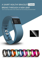 Android/IOS system band spanish - Smart bracelet bluetooth TW64 Smart Watch Wrist Band waterproof with Calorie Counter Pedometer and Sleep Monitor Stopwatch Dropshipping