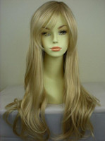 Wholesale Cheap Blonde Synthetic Wigs Curly - lolita wig long blonde curly wigs heat resistant synthetic wig women lovely natural cheap hair wig