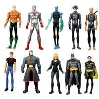 aquaman dc universe - 10pcs Set DC Universe Batman Robin Aqualad Aquaman quot quot Collectible Action Figure Loose