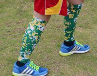 splint - Compression Running Leg Sleeves Calf Shin Splint Womens Mens Socks Track neon