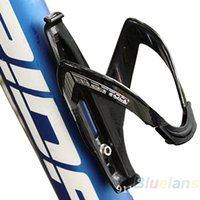 Wholesale New Cycling Bike Bicycle Sports Glass Fiber Drink Water Bottle Holder Cages Rack Accessories EG