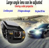Mini Invisible lentille de type réglable 1080P HD voiture DVR véhicule vidéo 170 degrés ultra grand angle nuit réglable image de vision enregistreur