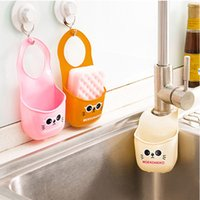 Wholesale Meng Meng cat cartoon hang the bag sink sink drain and rack storage rack kitchen gadgets g Bag